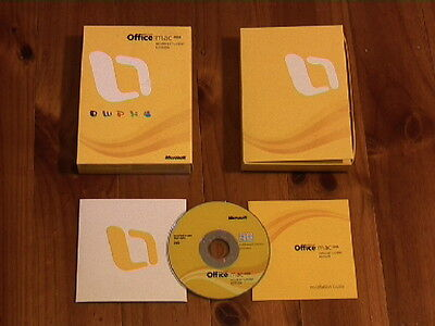 MICROSOFT OFFICE:MAC 2008 HOME AND STUDENT (3 User)+iLife '11 Family Pack+MORE!!