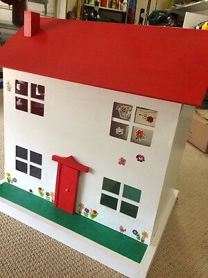 Large Timber Wooden Dolls House Very Solid And Sturdy