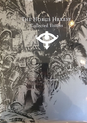 Warhammer 40K The Horus Heresy Collected Visions wargames hobby vintage book