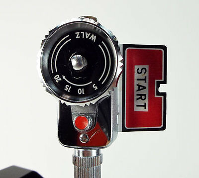 Vintage Walz Movie Camera Self Timer - 1950s Technology - Original Leather Case