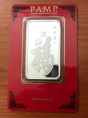 PAMP Suisse True Happiness 1 oz .999 Silver Bar in assay - Swiss Made.