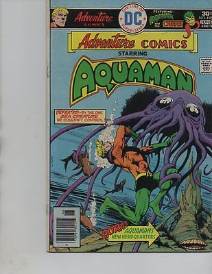 DC Comics ADVENTURE Comics #445 AQUAMAN And The Creepr-(1976)VF-