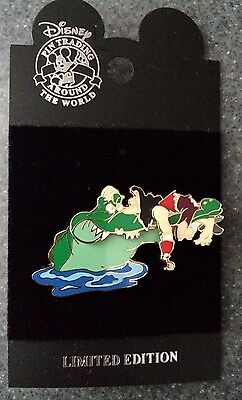 DCL Disney Cruise Line Rescue Captain Mickey Open Wide Captain Hook LE Pin