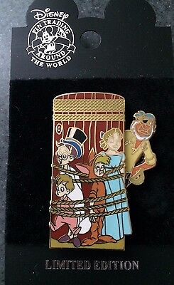 Disney DCL Rescue Captain Mickey All Tied Up Wendy Michael John LE Pin Peter Pan