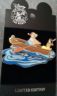 DCL Disney Cruise Line Rescue Captain Mickey Mr Smee Tiger Lily Kidnapped LE Pin