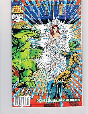 Incredible Hulk #400  (1992)   Foil Cover   Double Sized Issue