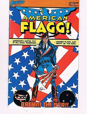 American Flagg #1  (1983 First)  Howard Chaykin Production