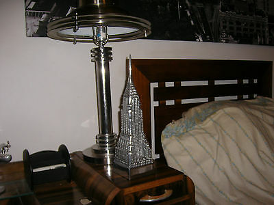 Art Deco- 'new York Chrysler Building' 41Cm/16 Inches High -Ren_Wiel