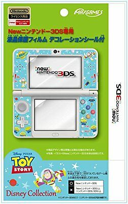 New Nintendo 3Ds Dedicated Lcd Protective Film Toy Story With Decoration Seal