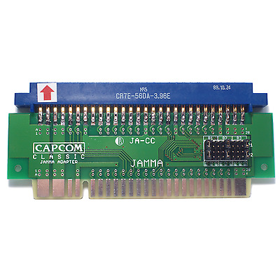 Capcom Classic to JAMMA Adapter Arcade with button remapper and Hirose connector