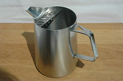 Rare Vintage 1950s Robert Welch Old Hall Oriana Iced Water Jug Slotted Spout