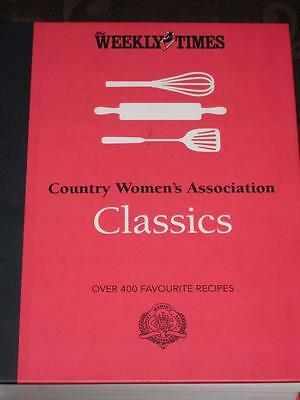 Country Women's Association Classics  Hardcover CWA Cookbook Recipes Cook