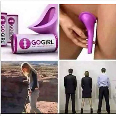 Go Girl Female Urination Portable Camping Aid Urinal  Device for Emergency