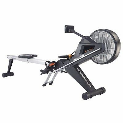 Sportop R700+ Air/Magnetic Rowing Machine LCD Display Folding Design
