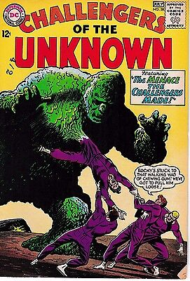 DC Challengers of the Unknown #38 Fine to Very Vine