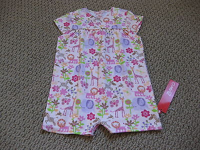 Zutano Baby Girl's Romper One Piece Lions Lullaby 18 Months NWT