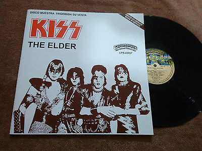 """Kiss """"the Elder"""" Mexico Promotional Vinyl Mexican Radio Station"""