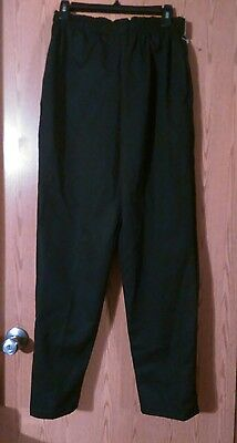 Chef Designs Black Pants, Size Small, NwoT
