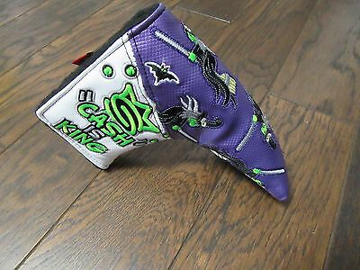 New Patchwork Lime green cash is king Witches Scotty Cameron Head cover Gallery