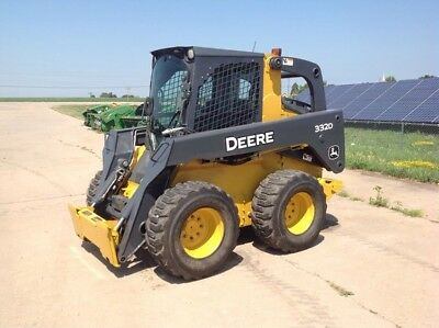 2009 John Deere 332D Skid Steer Loader