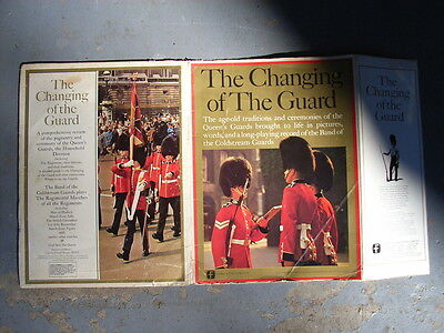 Booklet including vinal record of music for the changing of the Queens guards.