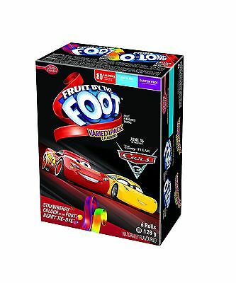 Betty Crocker Fruit by The Foot Variety Pack 6 Count 128 Gram