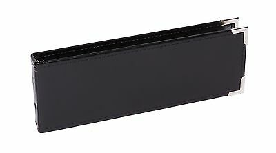 "Davis Group DAV1UP01 Cheque Binder 100 Check Cap 1-Up Style 12"" x 3/4"" x 4"" B..."
