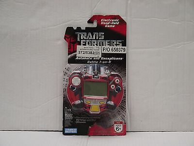 Transformers Movie 2007 Electronic Hand-held LCD Game