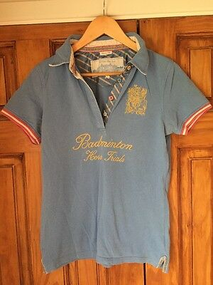 Ladies Joules / Badminton Horse Trails Polo Shirt