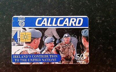 Irelands contribution to the united nations CALLCARD