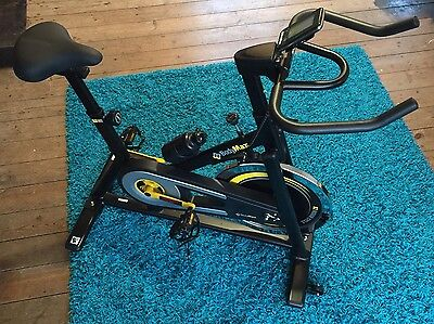 Bodymax B2 Black Indoor Cycle Exercise Bike Bicycle Trainer 2017 With Manual