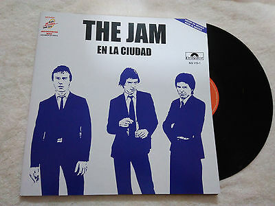 """The Jam """"in The City"""" Mexico Promotional Rare Ps Mexican Nice!! Paul Weller"""