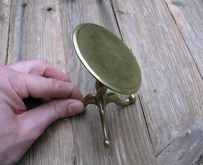 Antique Victorian Solid Brass Candle Reflector