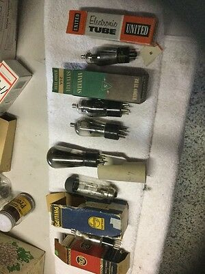 Mixed Lot Of Large Vacuum Tubes Valve Tubes Rectifiers