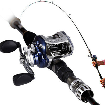 2-piece with an Extra Top Section Adjust Baitcasting Fishing Rod and Reel Combo