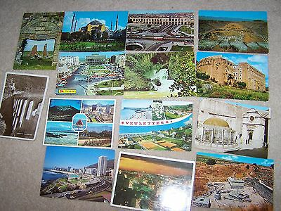 POSTCARDS 15  European mixed lot 5, Turkey  and Capetown South Africa