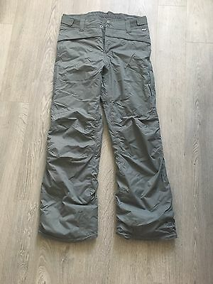 Protest Women's Grey Ski Snowboard Pants Trousers Size Large