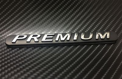 Universal PREMIUM Sticker Gold ABS Emblem Auto Car Badge Decal 3D Logo Decal