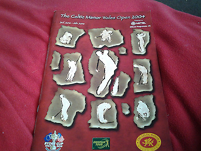 Golf Welsh Open 2004 @ The Celtic Manor 50 pages Colour