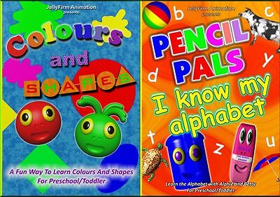 Preschool/Toddler Educational DVD Double Pack - Special Price!!!
