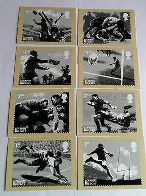 Royal Mail Postcard Stamps Set Of Eight