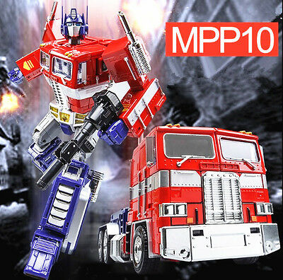 Oversized Transformers MPP10 G1 Optimus Prime 30cm Toy Action Figure Doll New