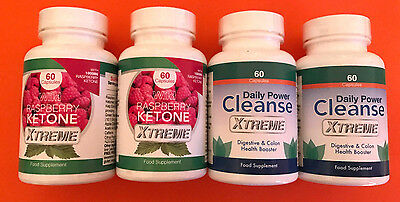 2x wild raspberry ketone xtreme 60 caps 2x daily power cleanse xtreme 60 caps eur 143 67. Black Bedroom Furniture Sets. Home Design Ideas