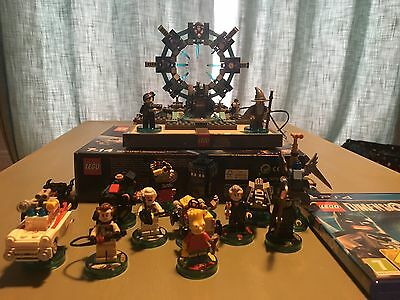 Lego Dimensions Set PS4 Including 2 Level Packs And 3 Fun Packs