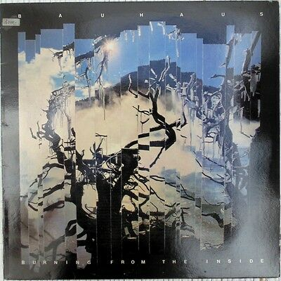 Bauhaus Burning From The Inside 1983 Lp Vinilo Nuevo