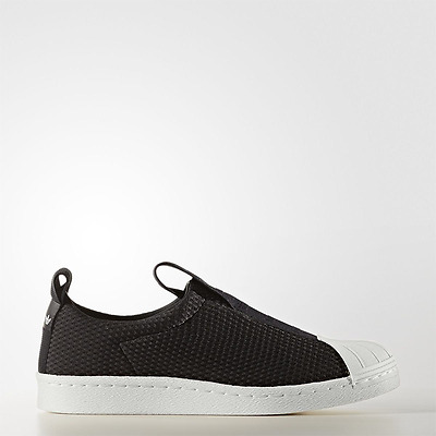 NEW ADIDAS ORIGINAL Womens Superstar BW3S Slip On BY9137