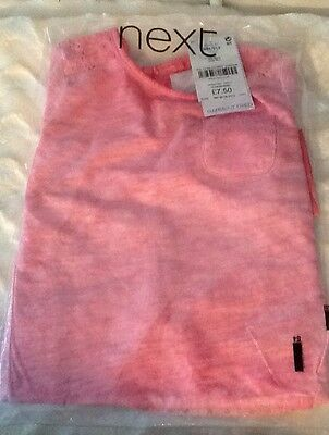 NEXT GIRLS PINK LONG SLEEVED TOP - BRAND NEW TAGS 18-24 Months SEALED