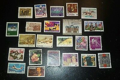 23 x Canada Stamps
