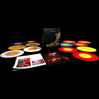 FREDDIE MERCURY [QUEEN] Messenger Of The Gods COLOURED 7'' VINYL Singles Box NEW