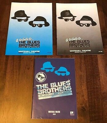 A Tribute to Blues Brothers Programmes and Poster - Whitehall Theatre